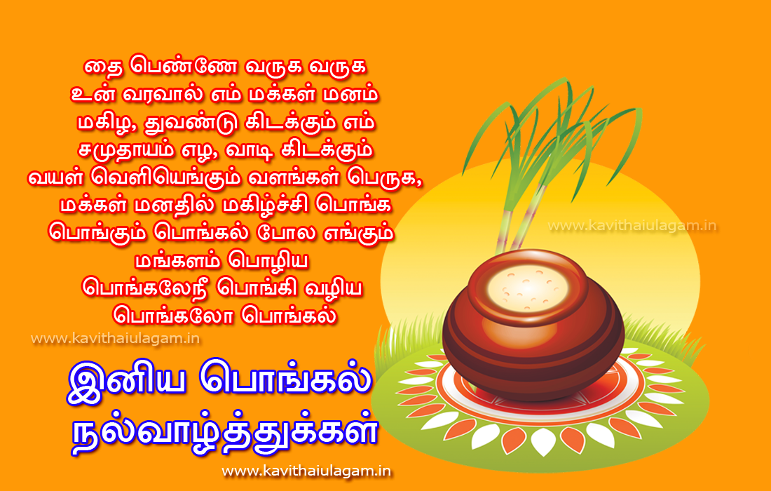 new pongal kavithaigal greetings for wishing friends   kavithaigal ulagam
