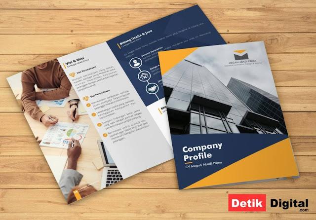 Jasa Desain Company Profile Perusahaan Terbaik dan Murah