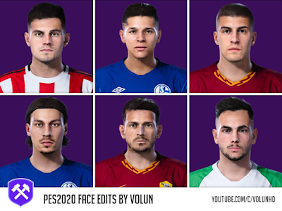 PES 2020 Face Edits Vol. 1 by Volun