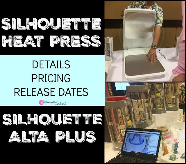 Silhouette America Blog, Silhouette 101, Silhouette Alta, Silhouette Alta 3d printer, silhouette heat press