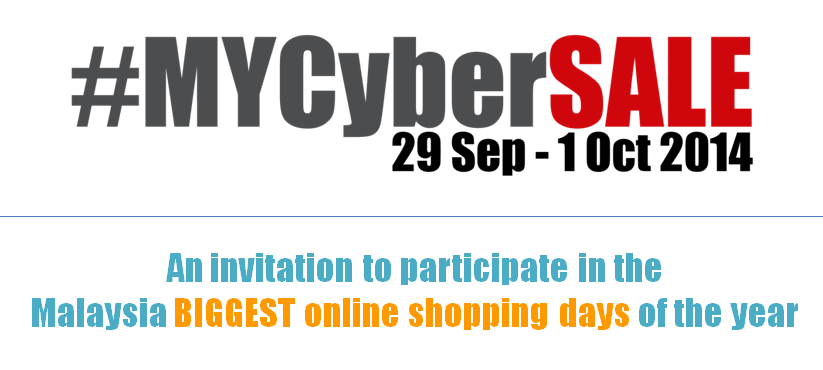 Invitation to participate in #MYCyberSALE