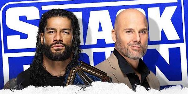 Repetición Wwe SmackDown 15 de Enero 2021 Full Show