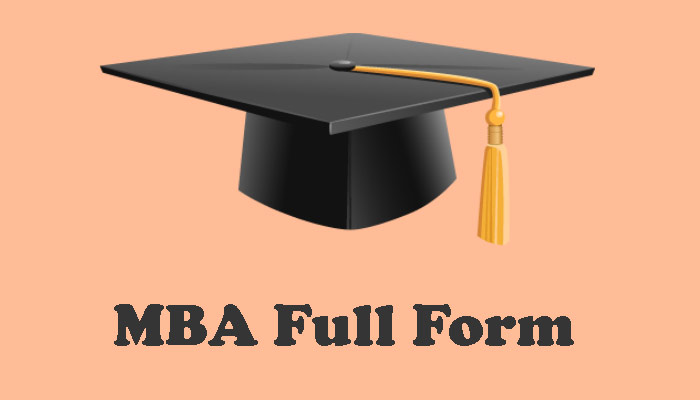 MBA full form in Hindi