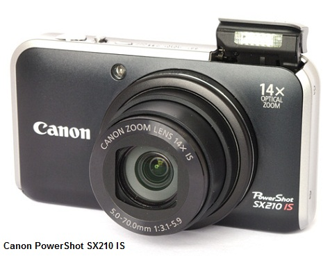 Canon PowerShot SX210 review and video test