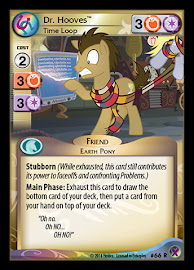 My Little Pony Dr. Hooves, Time Loop Marks in Time CCG Card