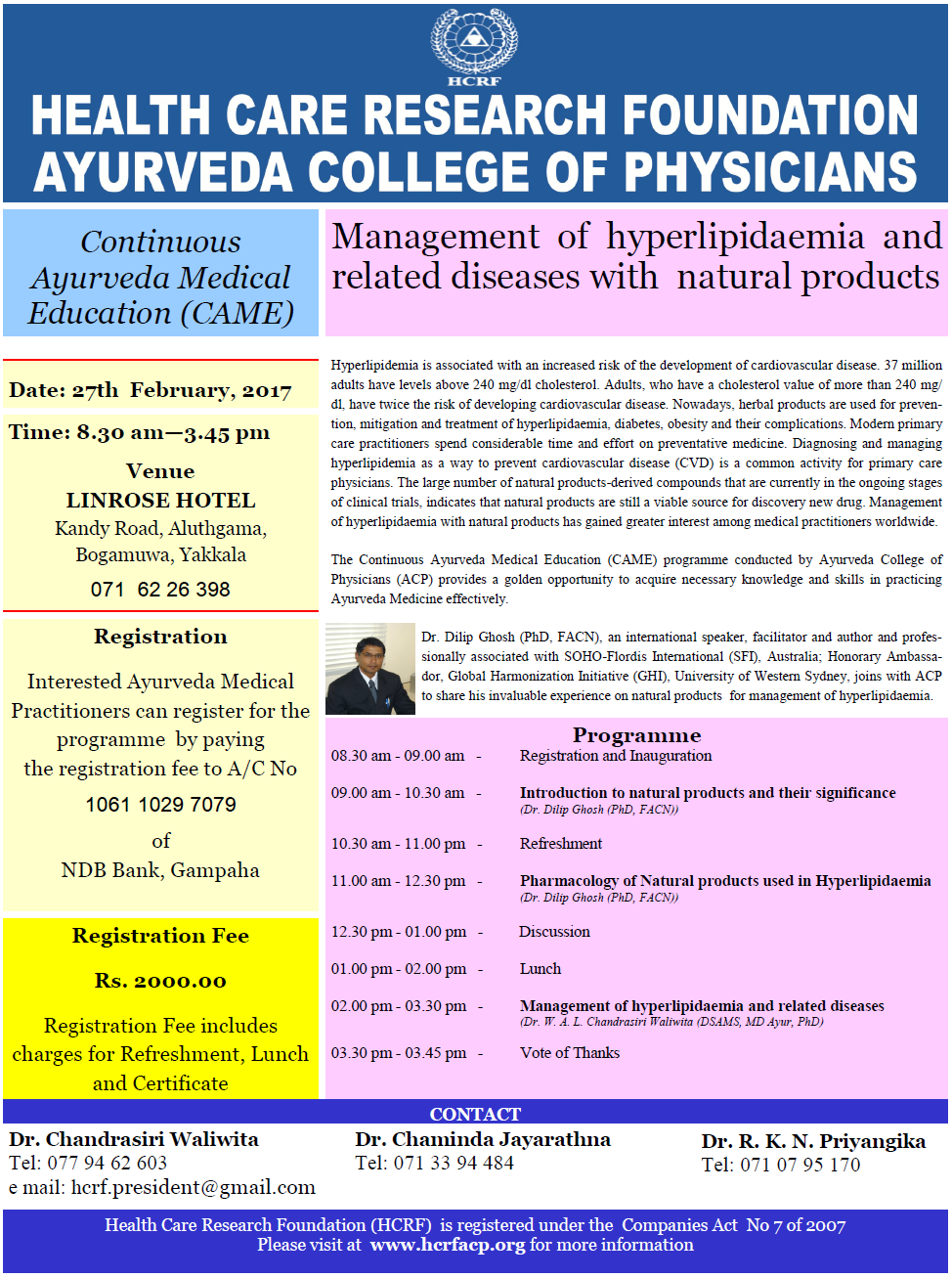 Certificate course in clinical electrocardiography continuous ayurveda medical education xflitez Choice Image