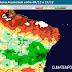 Chuva aumenta na Bahia até o fim da semana deve chegar em Ponto Novo e região