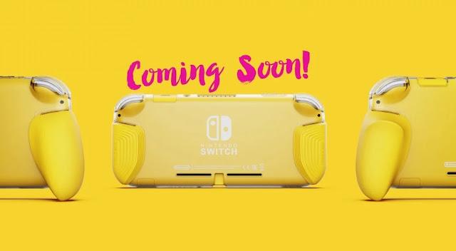 Nintendo Switch Lite receberá kit de aderência customizado