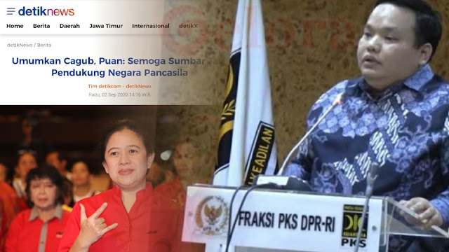 PKS ke Puan: Jangan Ragukan Nasionalisme Masyarakat Sumbar yang Berjuang Melahirkan Pancasila!
