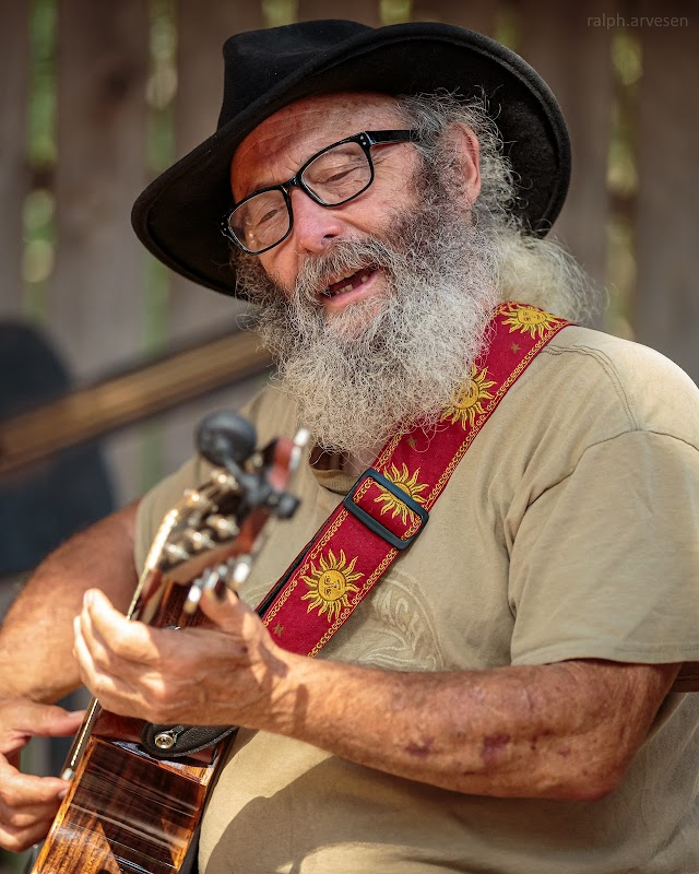 Jake Martin hosting Picker Circle Acoustic Jam at Luckenbach Texas in Fredericksburg, Texas
