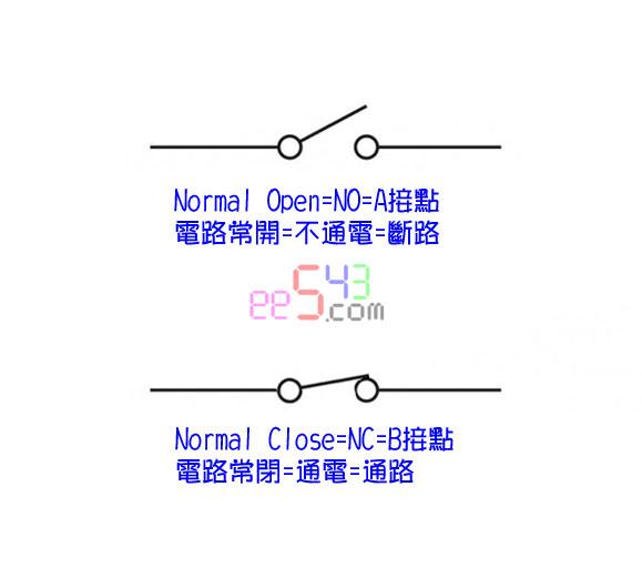 學習ING: 開關,NO/NC自鎖復位NPN/PNP低電平高電平