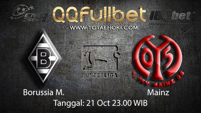 Prediksi Bola Jitu Borussia Monchengladbach vs Mainz 21 Oktober 2018 ( German Bundesliga )