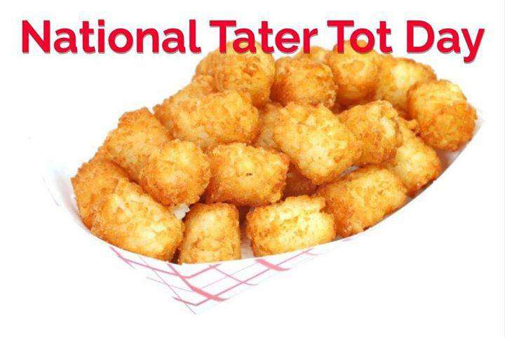 National Tater Tot Day Wishes Images