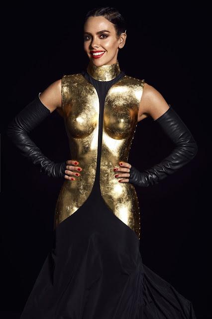 Vestido armadura de Cristina Pedroche  2019