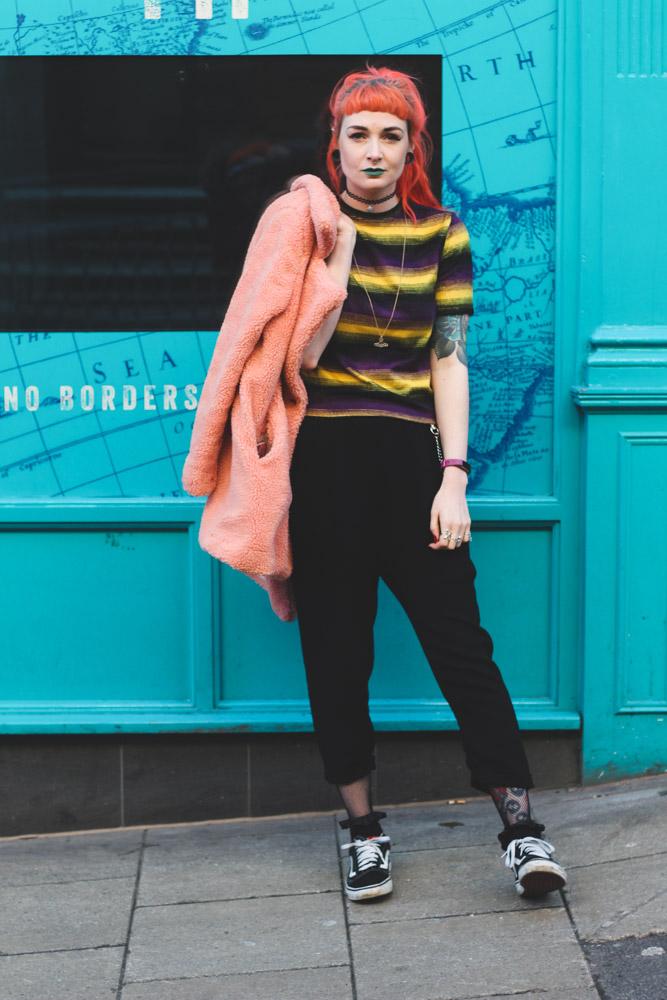Alternative Fashion Blogger Foxxtailz Styles LOTD Teddy Coat