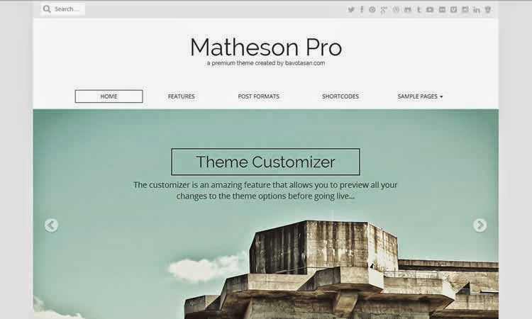 Matheson - Business theme