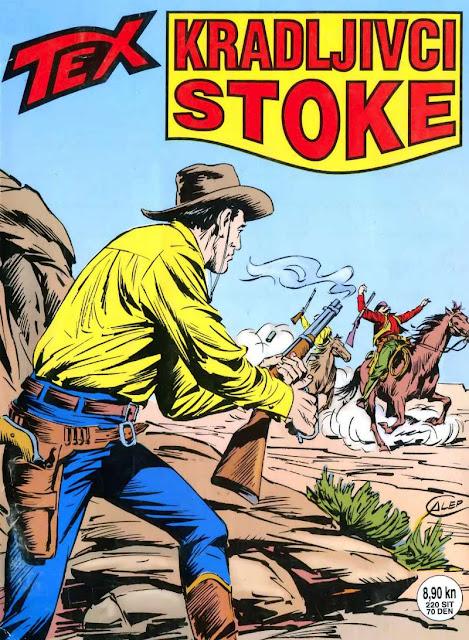 Kradljivci Stoke - SD - Tex Willer