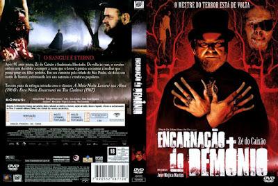 Filme Encarnação do Demônio DVD Capa