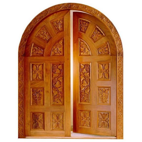Beautiful front doors design gallery 10 photos kerala for Front double door designs indian houses