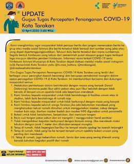 Press Release COVID-19 Tarakan 10 April 2020 - Tarakan Info