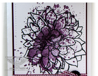 Crafty Colonel Donna Nuce, Club Scrap Dahlia Greetings to Go