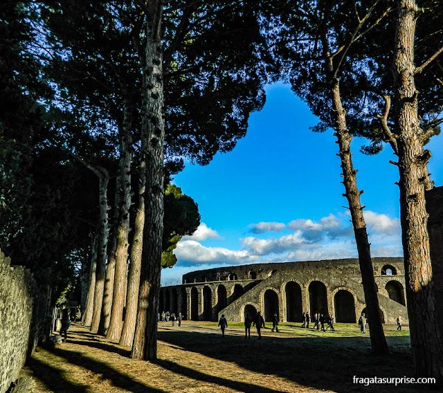 Anfiteatro de Pompeia, Itália