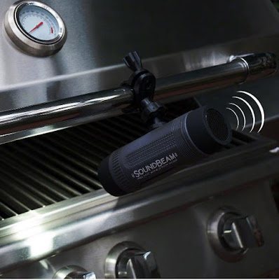 Soundbeam Outdoor BBQ Light with Bluetooth Speaker