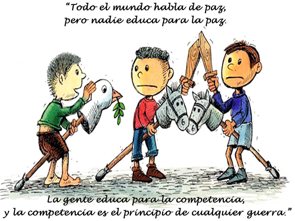 Frases Celebres Maria Montessori El Mensajero No Es
