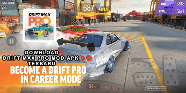 Download Game Drift Max Pro Mod Apk Terbaru