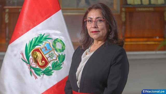 Violeta Bermúdez Valdivia, presidenta del Consejo de Ministros