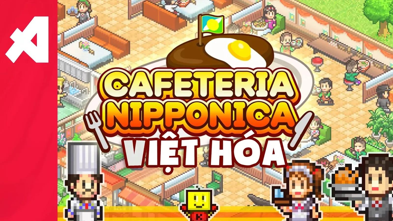 game cafe nippon android viet hoa aowvn%2B%25282%2529 - [ HOT ] Game Cafeteria Nipponica Việt Hoá | Android - Quản Lý Quán Ăn
