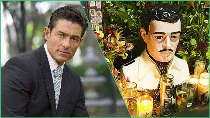 El Narco se enoja y amenaza de muerte al actor Fernando Colunga por interpretar a su Santo Patrón Jesús Malverde