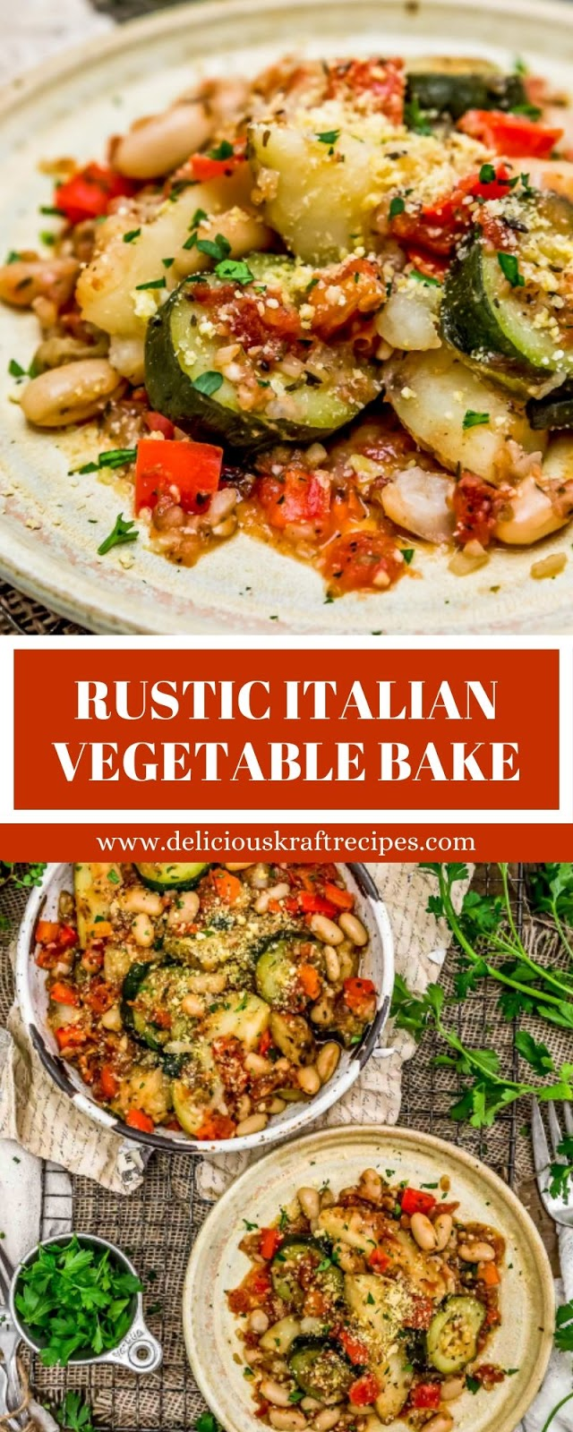 RUSTIC ITALIAN VEGETABLE BAKE
