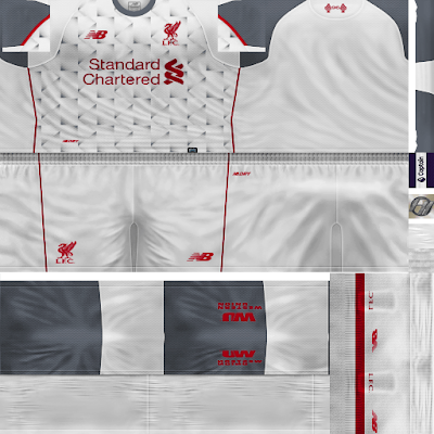 PES 6 Kits Liverpool FC Season 2018/2019 by FacaA/Ngel