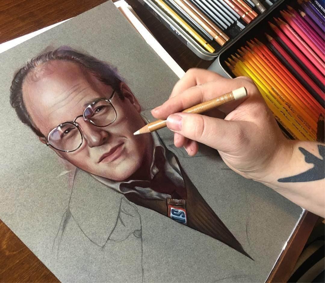 05-Jason-Alexander-George-Costanza-Seinfeld-Maria-Björnbom-Öberg-Distinctive-Style-in-Realistic-Portrait-Drawings-www-designstack-co