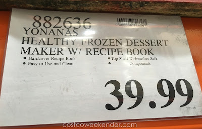 Deal for the Dole Yonanas Healthy Frozen Dessert Maker at Costco