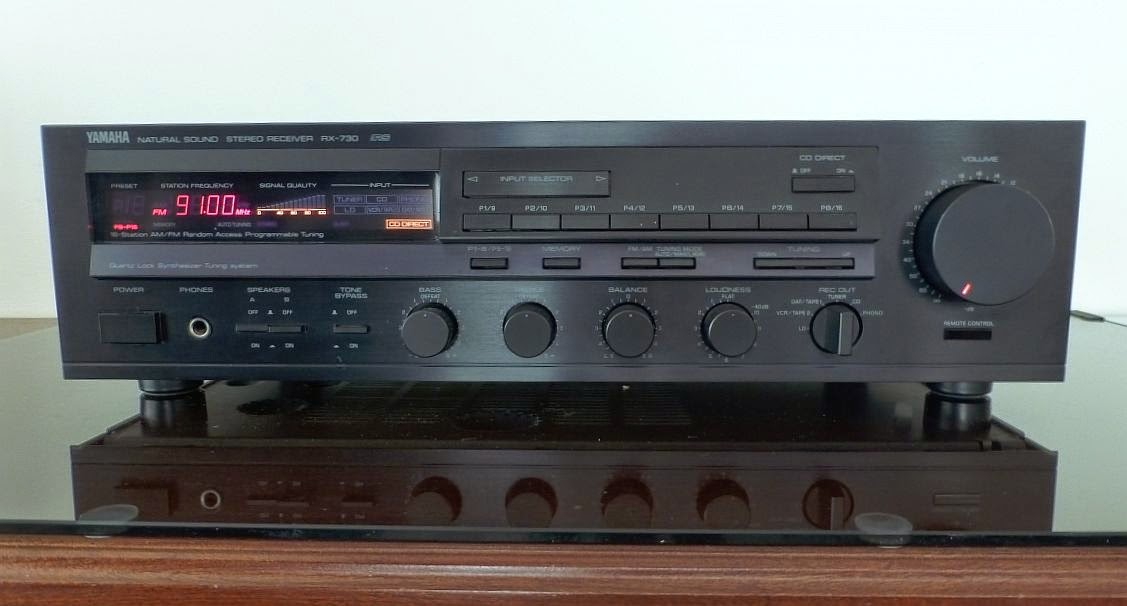 yamaha rx 730 stereo receiver audiobaza. Black Bedroom Furniture Sets. Home Design Ideas
