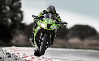 Kawasaki Ninja ZX-10R at test drive