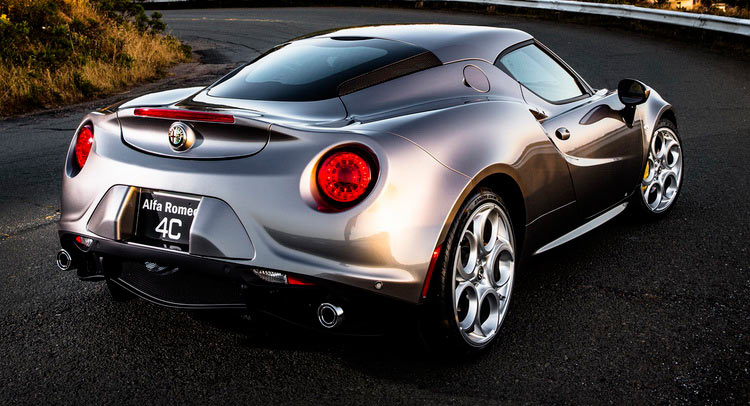 2016 Alfa Romeo 4C Adds More Options, Coupe Gains Spider's