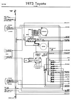repair manuals toyota corolla 1973 wiring diagrams. Black Bedroom Furniture Sets. Home Design Ideas