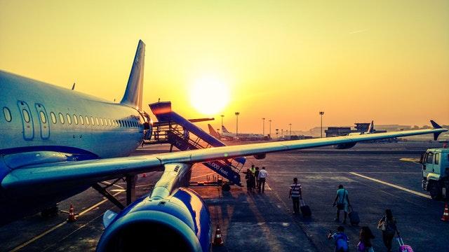 International flight traveling post COVID-19 lockdown