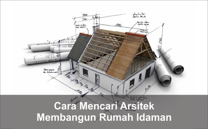 cara mencari arsitek