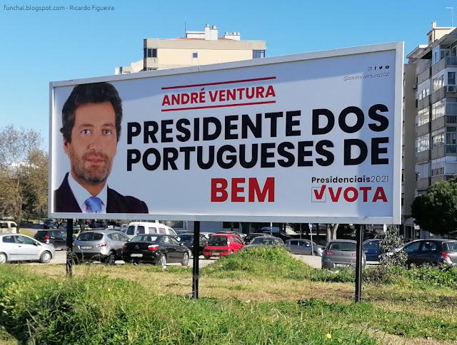CARTAZ - ANDRÉ VENTURA