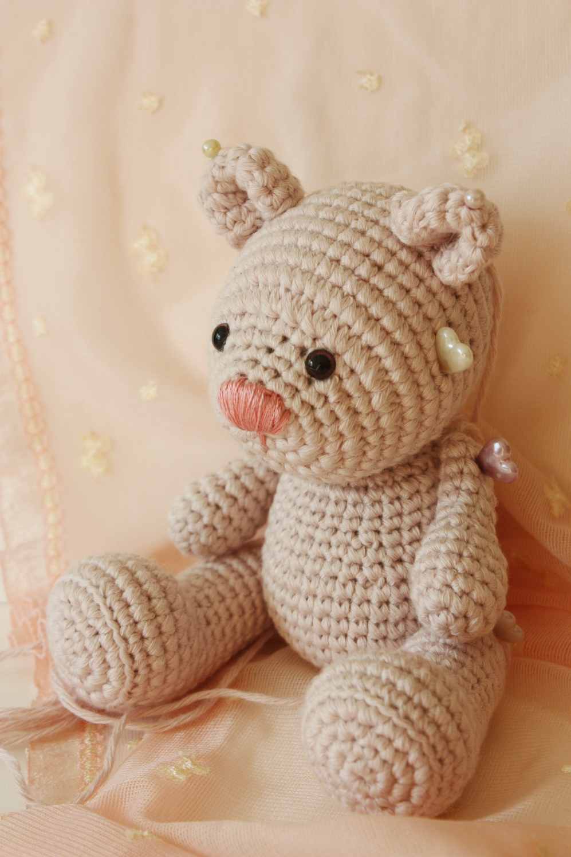 Amigurumi teddy bear pattern | Amiguroom Toys | 1495x997