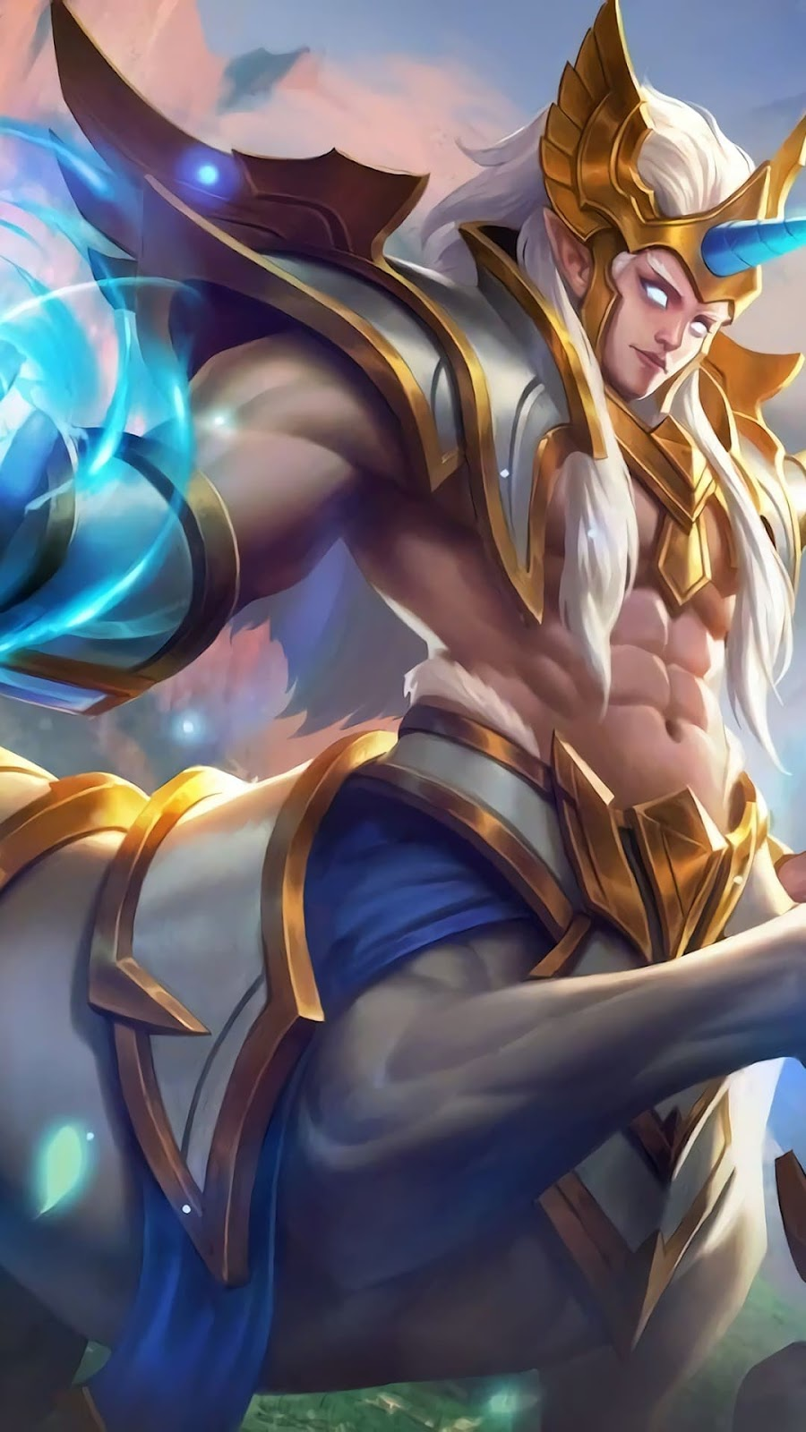 Wallpaper Hylos Grand Warden Skin Mobile Legends HD for Android and iOS