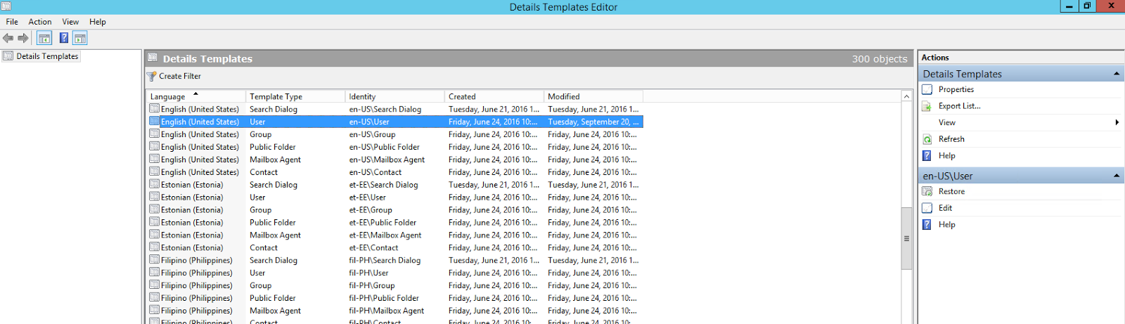 outlook contact template