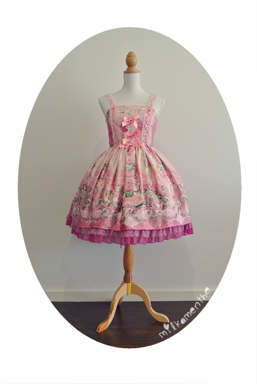 About A Dress: Angelic Pretty's Belle Epoque Rose