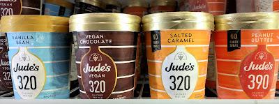 Jude's no added sugar ice creams