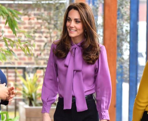 Kate se adelanta y lleva una de las tendencias que dominará en primavera
