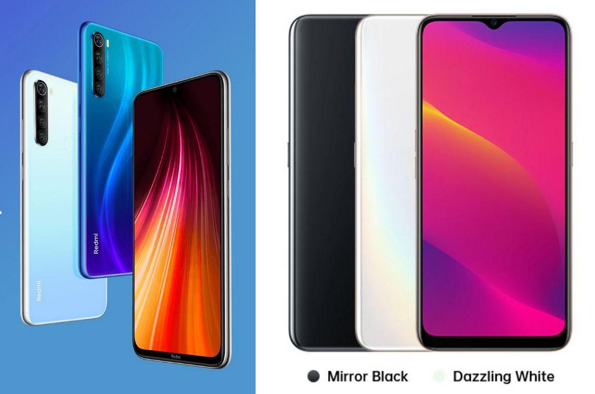 Duel Xiaomi Redmi Note 8 vs Oppo A5 2020, Pilih Mana?